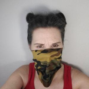 Face Masks Camo Reusable Lot of 6 NEW